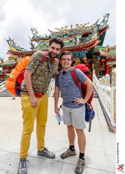 Florian et Gabriel, Pékin Express 2018   On The Road a Game